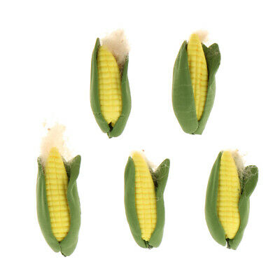 Dollhouse Miniature corn on the cob in 1:12 scale Polymer Clay