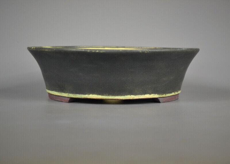Bonsai Schale - Handmade - Frank Müller - Frostfest - ca. 28,5 x 8 cm - 19 721