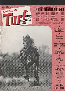 Turf Magazine August 1951 Issue