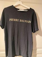 T shirt, BALMAIN, str. M, Næsten som ny, Super