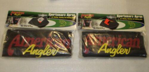 Lot de 2 New American Angler Sportsman/'s Tablier Barbecue Barbecue Fish Fry Fête des Pères
