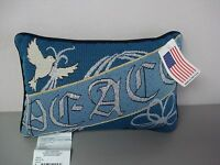 Usa Made Peace 12.5 X 8.5 Tapestry Word Pillow 128