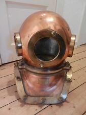 Rare Original soviet russian 3/12-bolt Diving Helmet SVK made in USSR1988