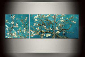 VAN GOGH ART POSTER 24x36 PRINT 800 ALMOND BLOSSOMS RED