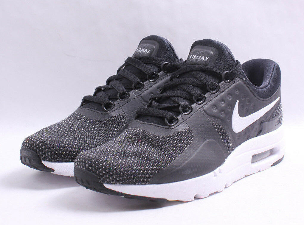 Nike Black Air Max Zero Essential Black Nike & White Men SZ 7.5 - 12 4a6143