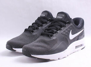 Nike Air Max Zero Essential   876070 004 Black   White Men SZ 7.5 ... 518ad7c27