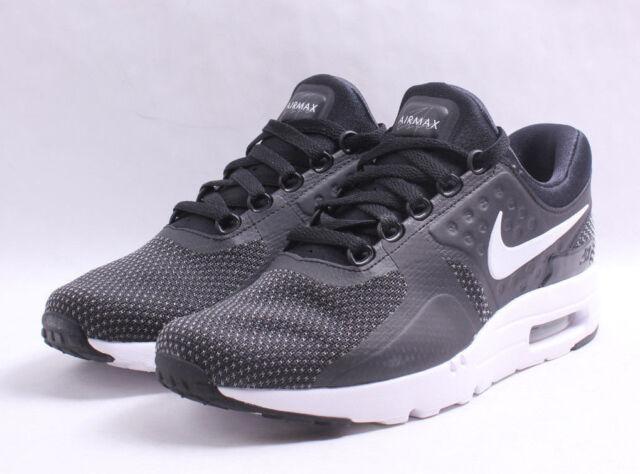 Nike Air Max Zero Essential # 876070 004 Black & White Men SZ 7.5 12