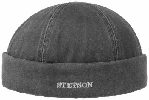 Stetson Distressed Cotton Docker Cap