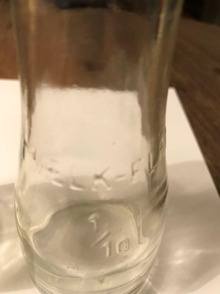 Andre samleobjekter, mælkefløde flasker