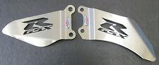 GSXR600/750 (2011-2014) Stainless Steel Foot Peg Heel Plates - Beowulf HPSU008