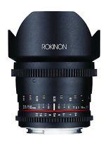 Rokinon Cine Ds 10mm T3.1 Cine Wide Lens For Nikon Dx Digital Slr - Ds10m-n