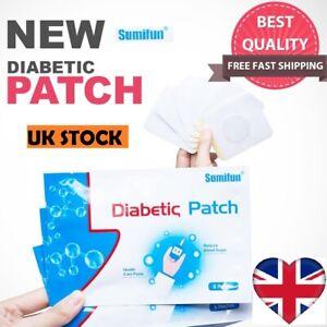 Sumifun-diabetici-Patch-stabilizza-l-039-equilibrio-di-zucchero-nel-sangue-glucosio-GESSO-UK-STOCK