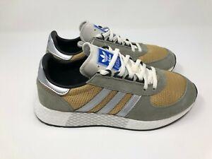 Details about adidas Originals Marathon Tech Men's Shoes (Trace CargoMetallic Silver) G27416