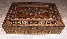 Holz Schmuckkasten Box Schmuckschatulle,Geschenkbox   aus Damaskunst k 2-3-41
