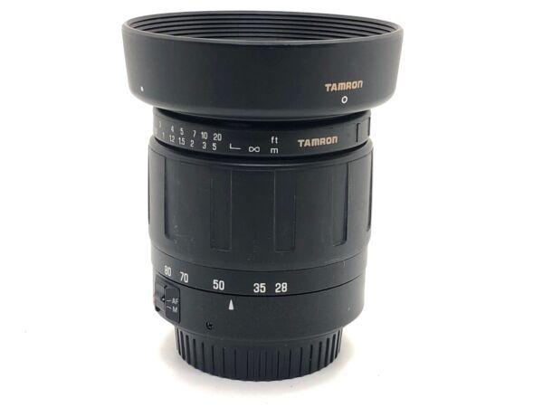 Ac Tamron 177d 28-80 Mm F/3.5-5.6 Af Objectif Pour Canon