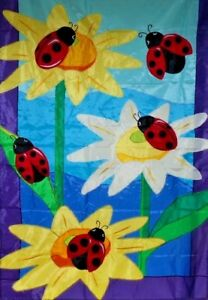 Ladybugs-and-Flowers-Prestige-Estate-House-Flag-Premier-Huge-36-034-x-54-034