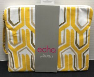 Echo-Case-For-iPad-Generations-1-2-3-Multi-Color-NWT