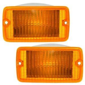 Amber Lens Driver Side Turn Signal Light Plastic Lens For Cherokee 97-01