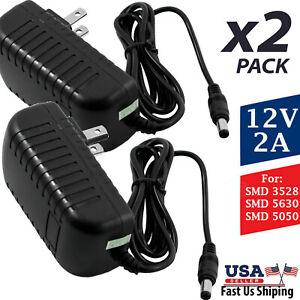 DC 12V 1A-8A Netzteil Ladegerät Adapter für LED-Lichtstreifen Video 2,5mm*5,5mm