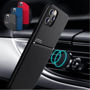 For-iPhone-12-Pro-Max-11-XR-SE-7-8-Plus-Shockproof-Rubber-Magnetic-Leather-Case