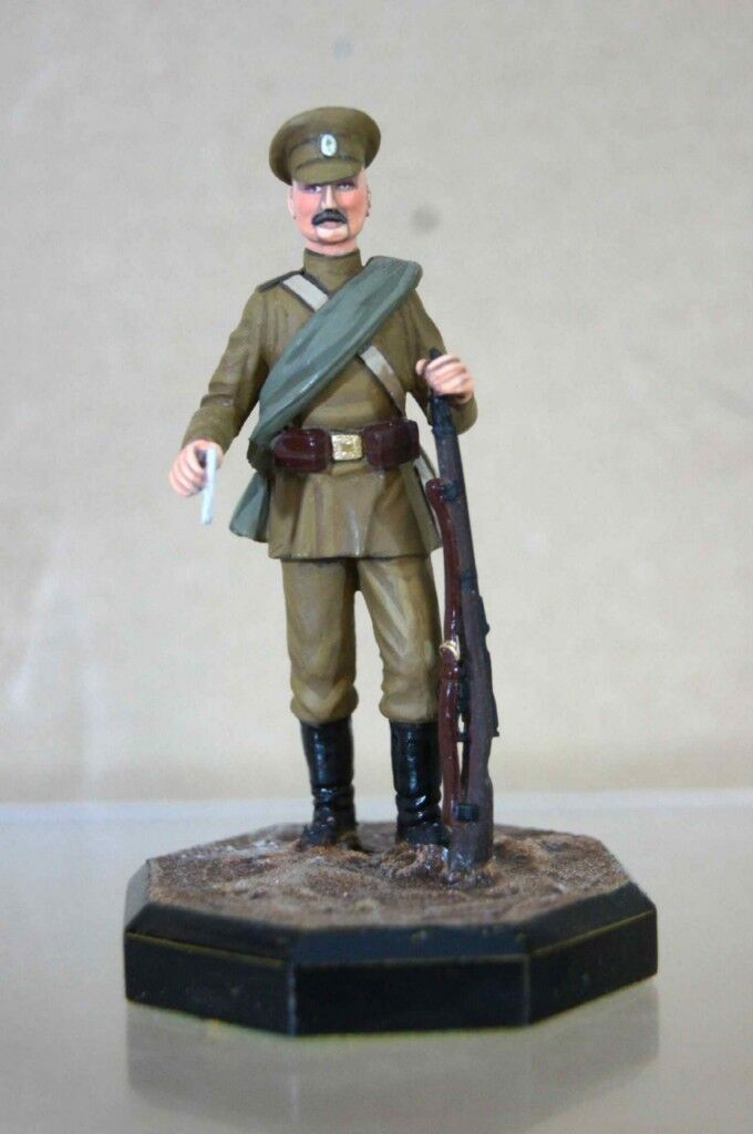CHAS STADDEN WWI RUSSIAN INFANTRY SOLDIER 1917 77 SERIES STUDIO PAINTED ow