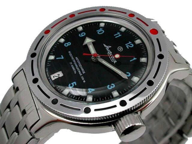 Vostok Amphibian 100815 Military Russian Diver Watch 200m Automatic Uk For Sale Online Ebay