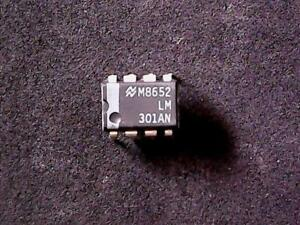National Semiconductor Op Amp LM301AN DIP-8
