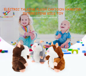 Electric-Talking-Plush-Cartoon-Hamster-Interesting-Kids-Interactive-Toys-Gifts