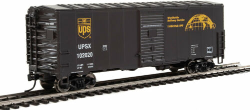 Walthers HO Scale 40/' AAR Modernized Boxcar United Parcel Service//UPS #102020