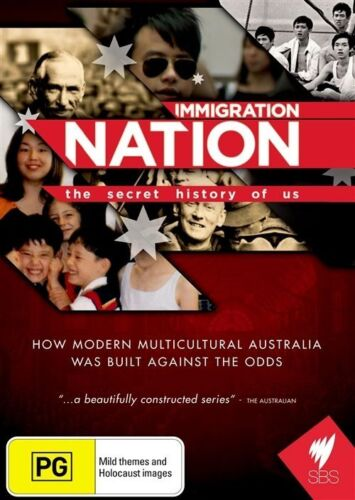 1 of 1 - Immigration Nation - The Secret History Of Us (DVD, 2011)-REGION 4-Free postage
