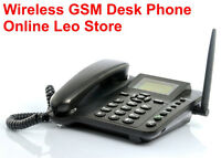 Sim Card Wireless Gsm Desk Phone - Quadband, Function.