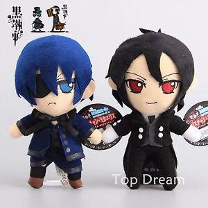 Kuroshitsuji-Black-Butler-Sebastian-Michaelis-amp-Ciel-Phantomhive-Plush-Toy-Doll