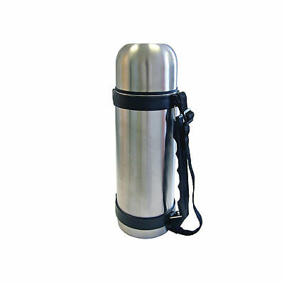 Carry Handle UK New 1800ml Stainless Steel Vacuum Thermos Flask 1.8L HOT/&COLD