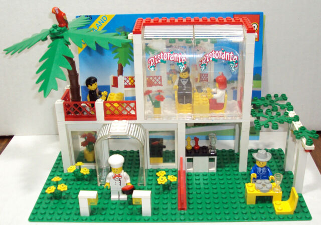 6376 Lego Breezeway Cafe 100 Complete With Instructions 1990 Ebay