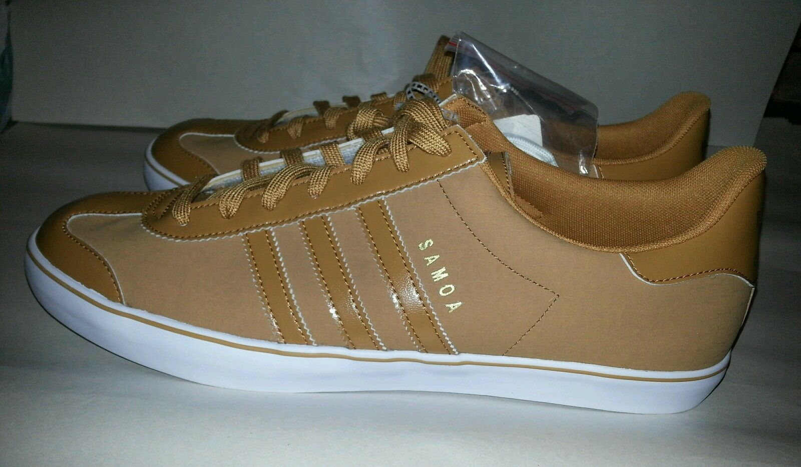 Adidas Originals Samoa Vulc Wheat Men's size 8.5 C76448