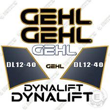 Gehl Dl12 40 Decal Kit Telescopic Forklift Decals Dl1240 Stickers