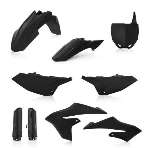 Acerbis Full Plastic Kit Black Yamaha YZ 65 2019