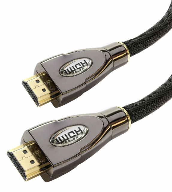2m Premium HDMI Kabel v1.4a Gold Hohe Geschwindigkeit HDTV HD 2160p 3D
