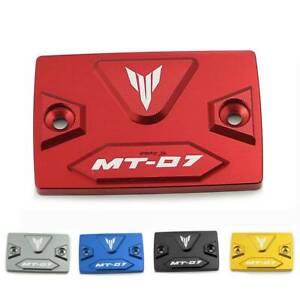 Red-Brake-Clutch-Oil-Fluid-Reservoir-Tank-Cap-Cover-For-Yamaha-MT-07-2014-2017