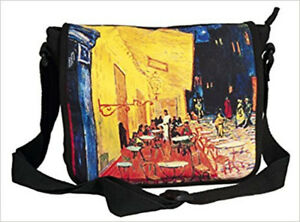 Damen Umhängetasche artprint Vincent van Gogh Cafe de Nuit Tasche Handtasche neu