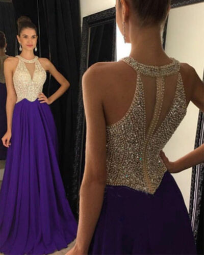 2019 Bridesmaid Gown Formal Party Cocktail Evening Prom Dresses Long Custom Size