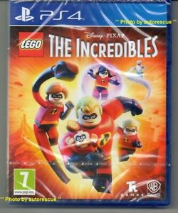 LEGO-The-Incredibles-039-New-amp-Sealed-039-PS4-Four
