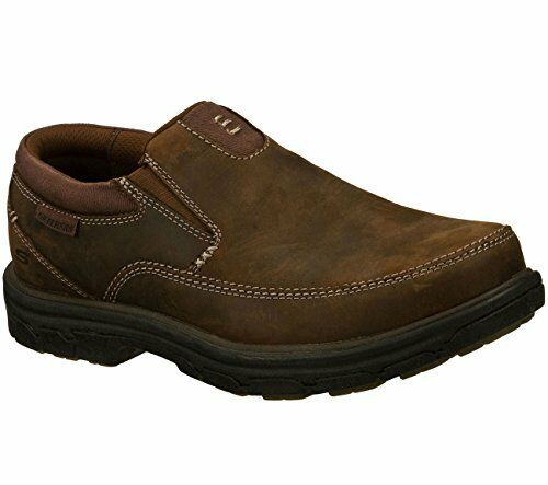 7d20eac059f SKECHERS 64261 Dark Brown Men Relaxed Fit Segment The Search CHZ Size 12 M  for sale online