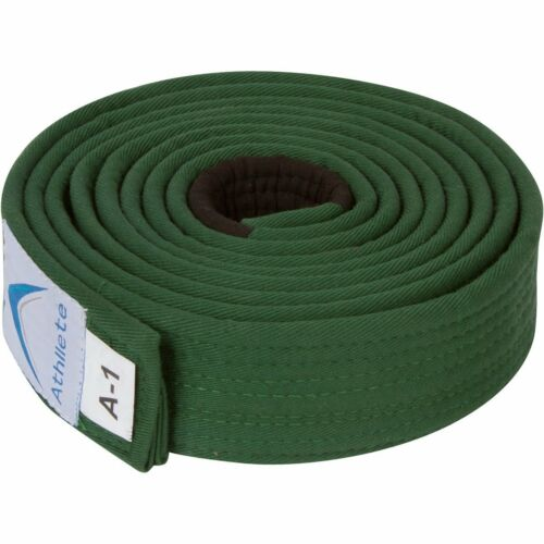 Green, A5 Athllete Jiu Jitsu Belts