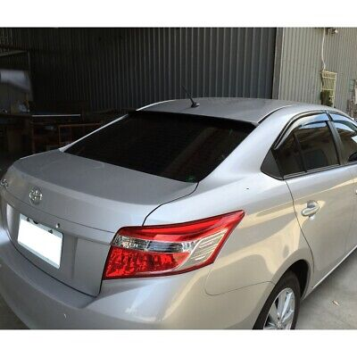 Flat Black LRS Type Rear Roof Spoiler For Toyota Belta Yaris Sedan 2006-2010 ♘