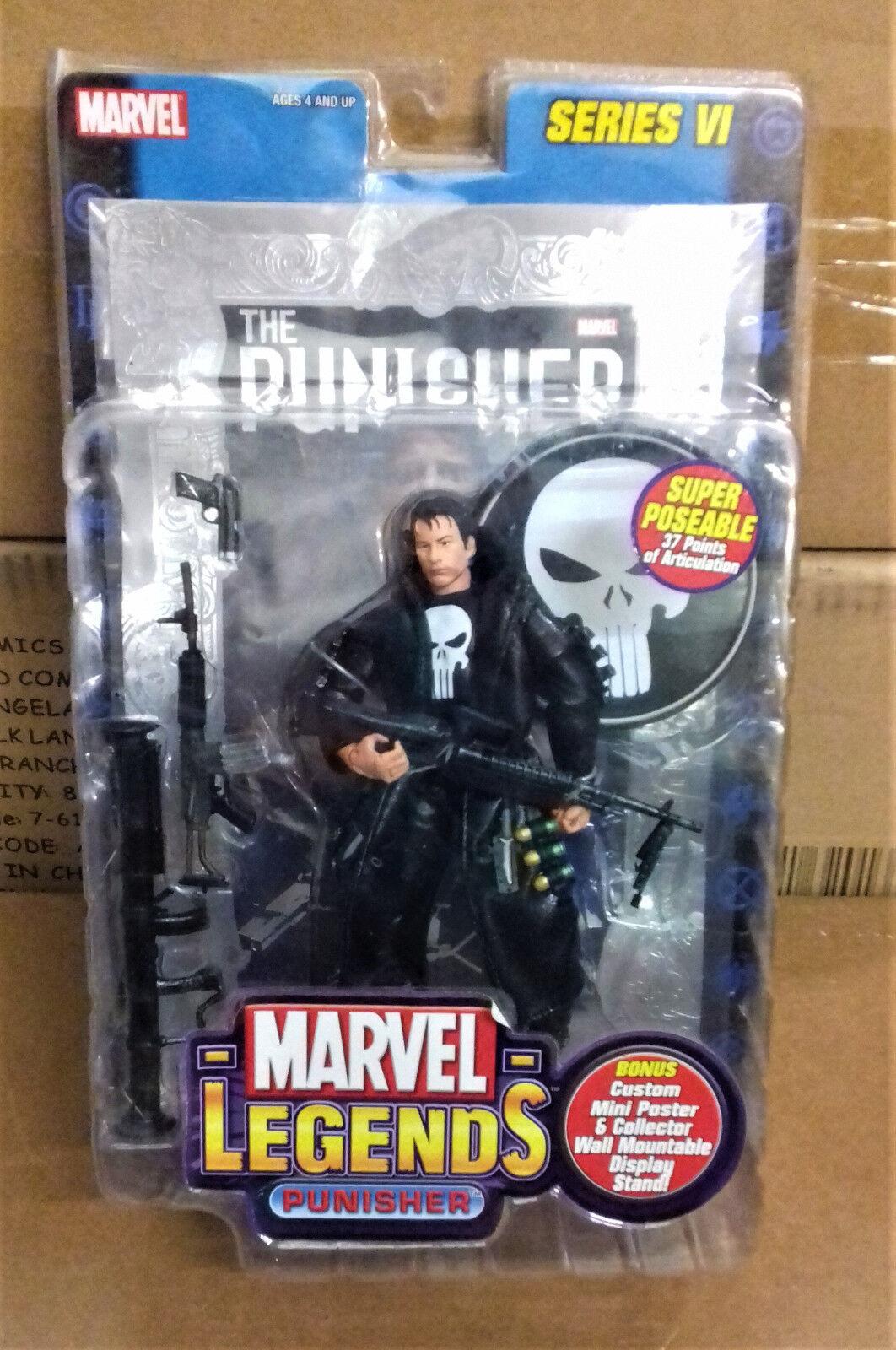 MARVEL Legends Comics  Punisher (Thomas Jayne) 6  Giocattolo cifra Regno Unito argentooo Scatola FOIL  liquidazione fino al 70%