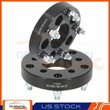 2 125 Wheel Spacers Adapters 5x45 To 5x55 Fits Ford Ranger Jeep Liberty