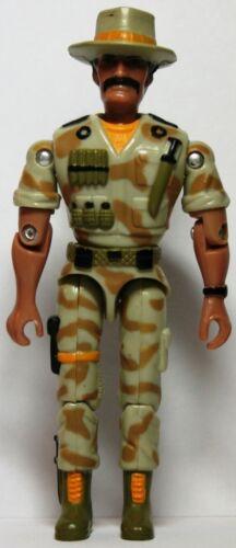 Lanard corps militaire vintage croco marron clair jaune soldat
