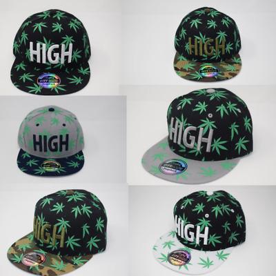 Cannabis Rainbow Leaf Gay Pride Baseball Cap Men//Women New Snapback Caps