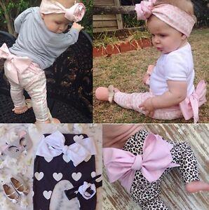 Nylon Slim Glitter Leaf Bow Newborn Baby Girl Toddler Kid Stretch Headband